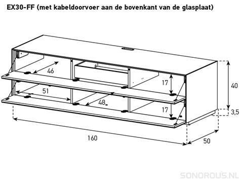 Klep Payung Klep Kaze Original In Ex sonorous ex30 f modern tv meubel met 2 kleppen design tv meubels