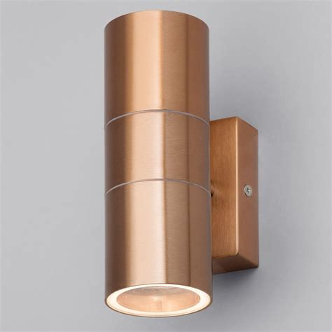 large outdoor up and down wall lights kenn up down light outdoor wall light copper from