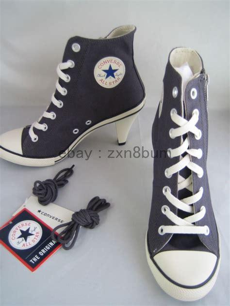 high heel sneakers converse heel sneakers converse all stiletto zipper lace up hi