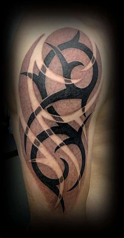 dark tribal tattoos 50 tribal tattoos for inspirationseek
