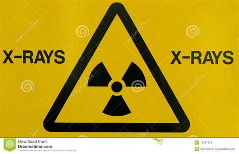 printable x ray signs x ray warning sign stock image image of medical