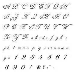 monogram stencil