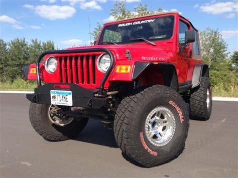 Jeep Rubicon 1998 Find Used 1998 Jeep Wrangler Tj Lifted Quot Rubicon Quot Axles 35s