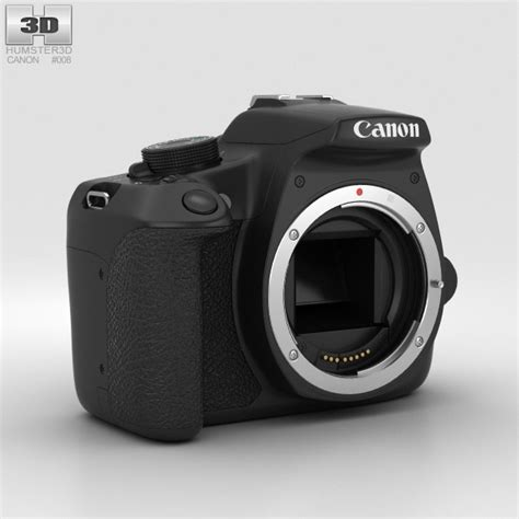 canon 3d canon eos rebel t5 3d model hum3d