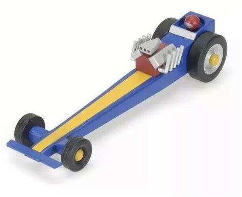 darice wooden drag racer kit modeling kit  creative
