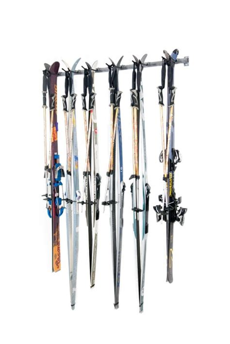 Home Ski Rack by Cross Country Ski Rack Holds 6 Diy Organization
