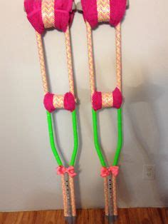 how to make crutches more comfortable on hands bling zebra crutches limpin in style she s crafty