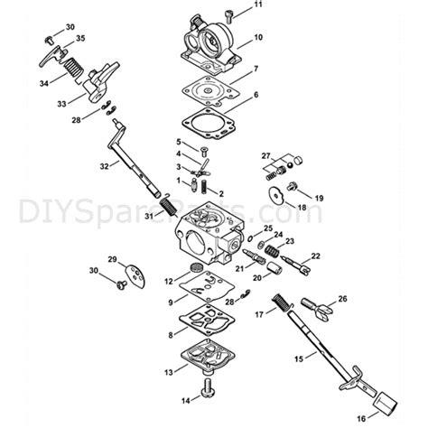 stihl chainsaw carburetor diagram stihl ms 311 chainsaw ms311 parts diagram carburetor wte 9