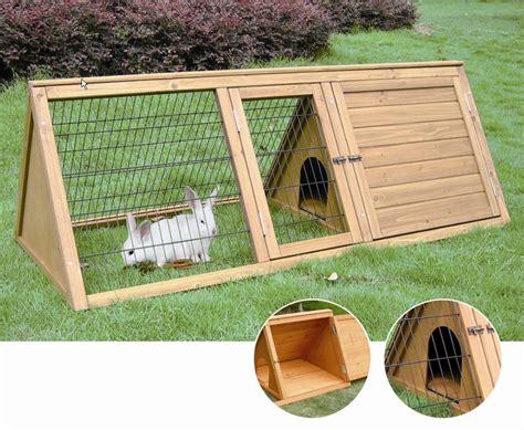 gabbie esterne per conigli gabbia duca conigli legno trattato esterno componibile
