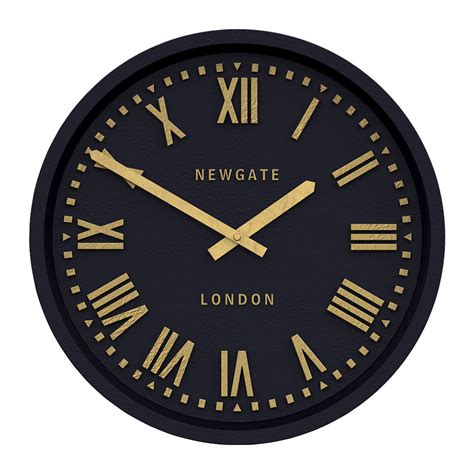 clock buy buy newgate clocks power station wall clock matt petrol