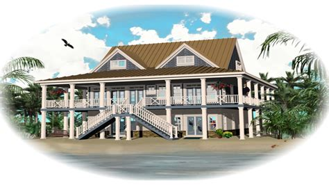 house plans coastal beach style house designs home plans raised beach house