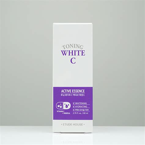 Etude Toning White C etude house toning white c active essence review