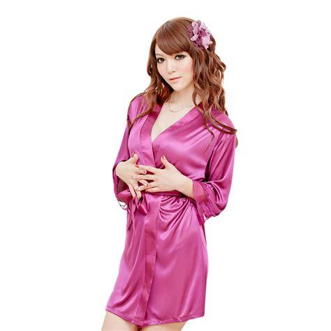 Ss43b Kimono Babydoll Piyama Satin Satin satin chemise silk cami camisole lace babydoll kimono robes thongs ebay
