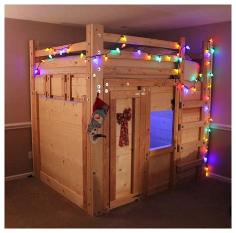 fort in bedroom bunk bed plans kids rustic with bed forts bunk bed beeyoutifullife com