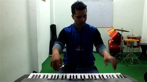 theme music dilwale dilwale theme tune piano cover by vaibhav sharma jnd