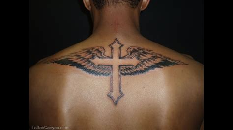 upper back tattoos for men 13 back design ideas