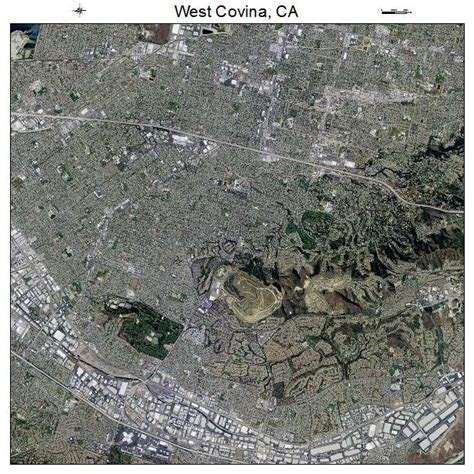 covina california map aerial photography map of west covina ca california