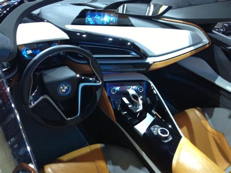 bmw i8 inside 2012 la auto bmw remains committed to electic future