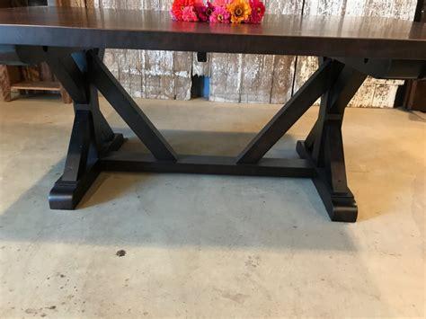 lauren trestle table  maple furniture   barn
