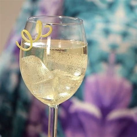 toast to spring with a dainty hummingbird cocktail