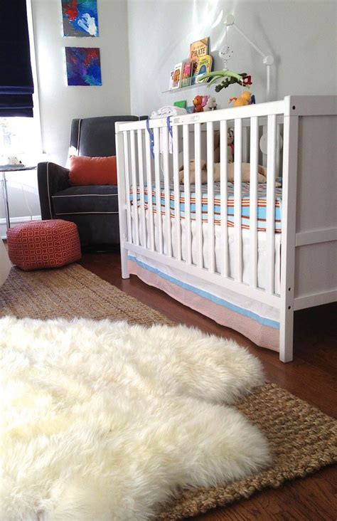 Fluffy White Rug For Nursery Best Decor Things Rugs For Nursery