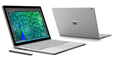 Laptop Microsoft Surface 4 microsoft s surface book can store a nvidia gpu in the