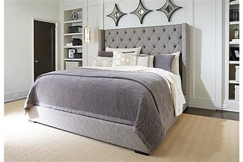 the bedroom superstore the sorinella upholstered bed from ashley furniture
