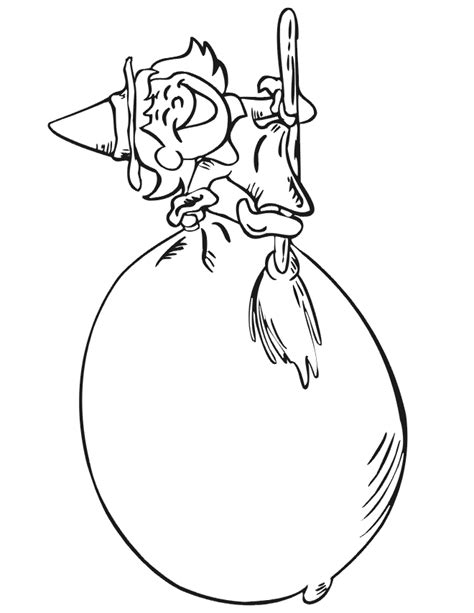 coloring pages witch on a broom witch printables printable witch activities for kids