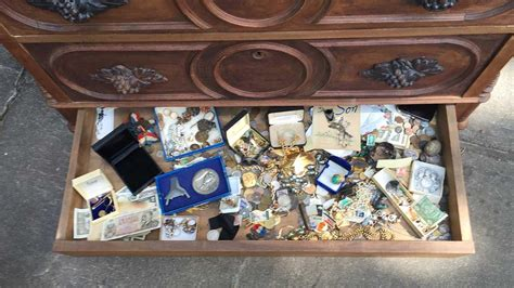 how to find treasures in russia and not finds treasure in dresser bought at estate sale