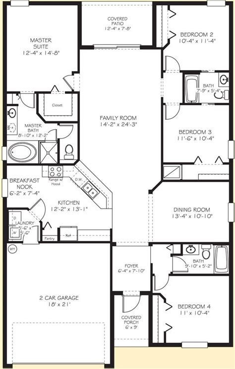 Mobile Home Floor Plans Florida by Lennar Homes The Quot Normandy Quot Floor Plan Is Jack And