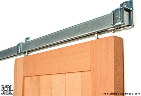 Box Track Barn Door Hardware Box Rail Sliding Barn Door Hardware Stainless Steel Rubbed Bronze And Black Finishes