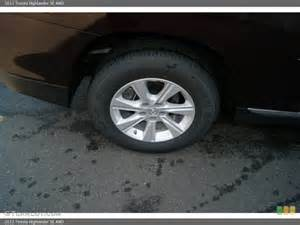 Toyota Highlander Tyres 2012 Toyota Highlander Se 4wd Wheel And Tire Photo