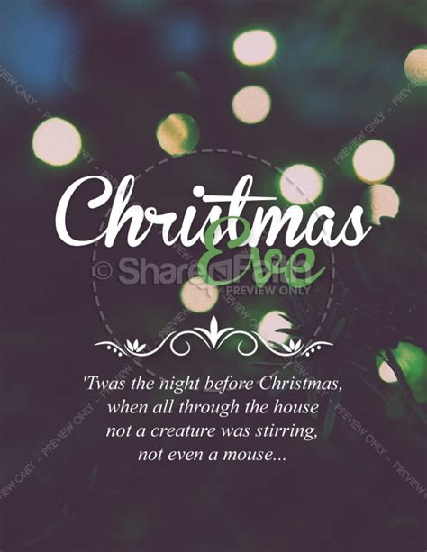 Christmas Tree Lights Church Flyer Tree Lighting Flyer Template