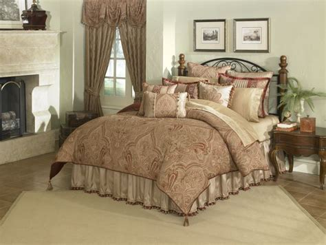 fancy comforters castille 4 pc king comforter set garnet