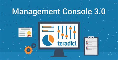 management console management console
