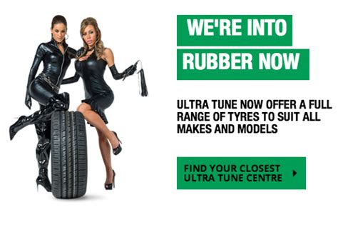Are You Into Rubber by Ultra Tune Website Advertising Collective Shout