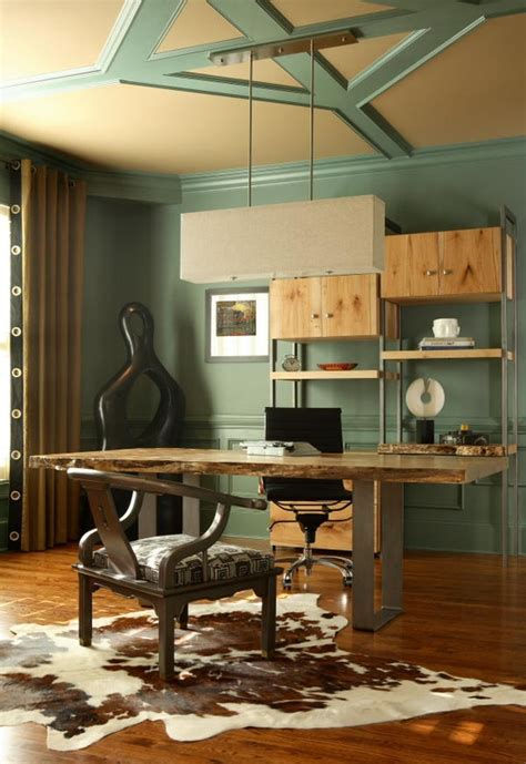 33 Stylish And Dramatic Masculine Home Office Design Ideas Designs For Home Office