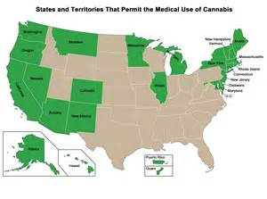 States Where Pot Is Legal Map by Cannabis Refugees Why People Are Moving Across Country To