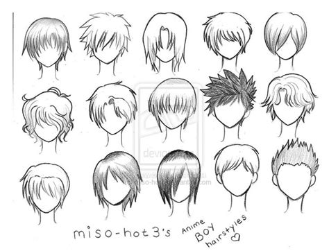 anime hairstyles female images peinados anime hombre buscar con google melvin