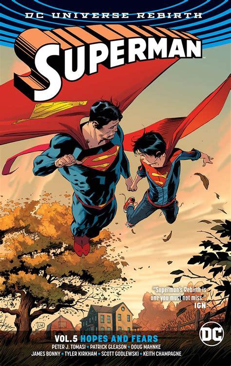 Superman Vol 3 Multiplicity Rebirth Tp Tomasi Comic Komik Dc Book weeks fresh comics