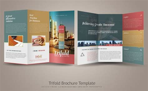 tri fold brochure design layout download tri fold brochure layout ideas theveliger