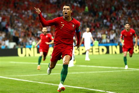 World Cup Portugal world cup 2018 cristiano ronaldo set new records in spain