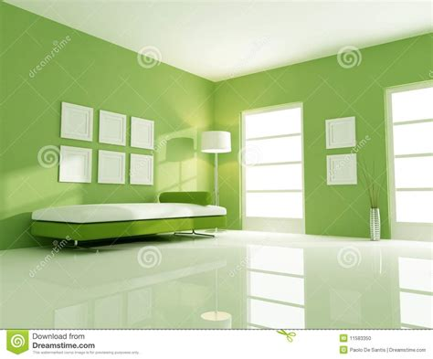 bright green wall living room sofa download 3d house a green bright room stock photo image 11583350