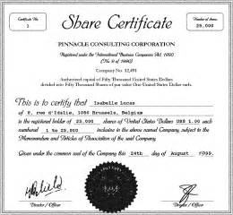 stacy blog share certificate