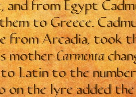 dafont egyptian carmenta font dafont com
