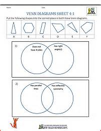 venn diagram grade 2 venn diagram worksheet 4th grade