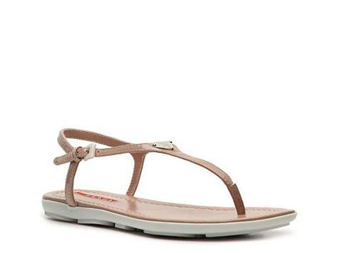 dsw flat sandals prada patent leather flat sandal dsw