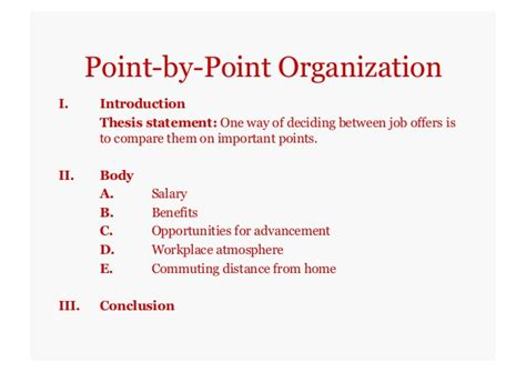 How To Organize A Compare And Contrast Essay by Comparison Contrast Essays Self Study Version