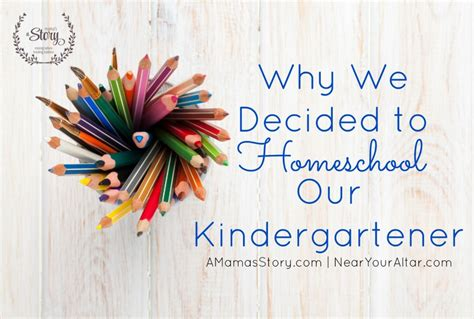 why we decided to homeschool our kindergartener