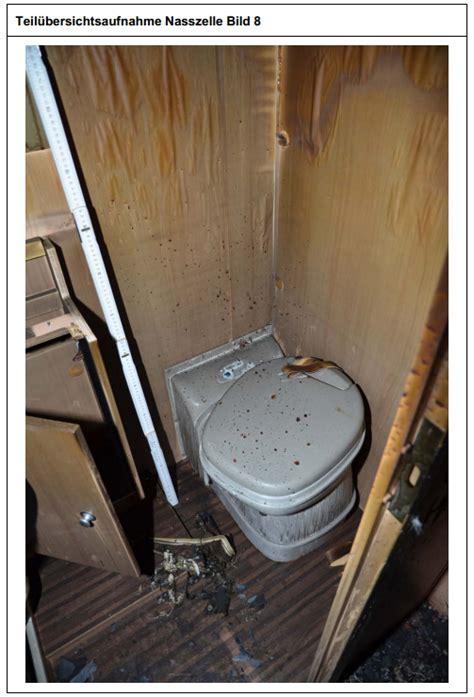 was ist ein bd klo wessen blut tropfte spritzte auf das wohnmobil klo nsu